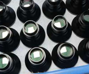 Optical components production