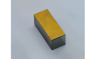 LiNbO3 Z-Cut, 9x9x25mm, Rectangular, Au electroded for EO applications