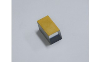 LiNbO3 Z-Cut, 10x10x20mm, Rectangular, Au electroded for EO applications
